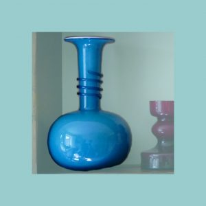 Vintage Holmegaard Napoli Vase Set