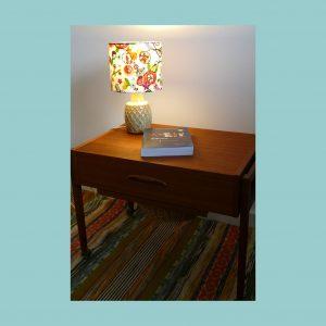 Table Lamp Vintage Scandinavian Soholm Set