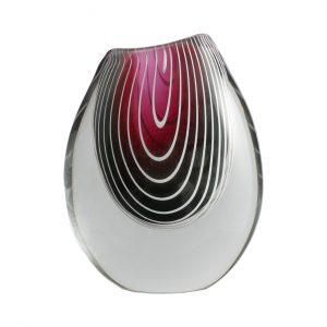 Vintage Kosta Zebra Vase F3