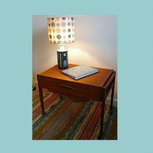 Vintage Scandinavian Table-lamp ILK Set
