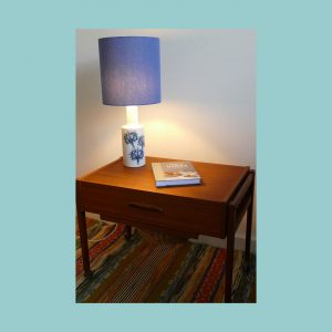 Vintage Scandinavian Table Lamp 5087 Set