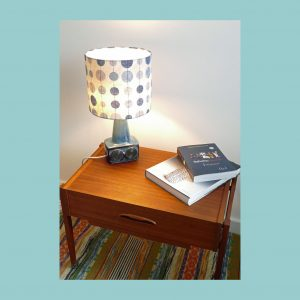 Vintage Scandinavian Table Lamp set 1095