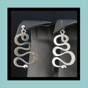 Vintage Norwegian Ear Rings F