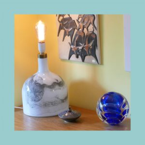 Holmegaard Art Lamp Set