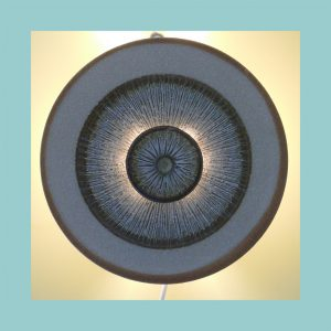 Soholm Disc Wall Light Lit