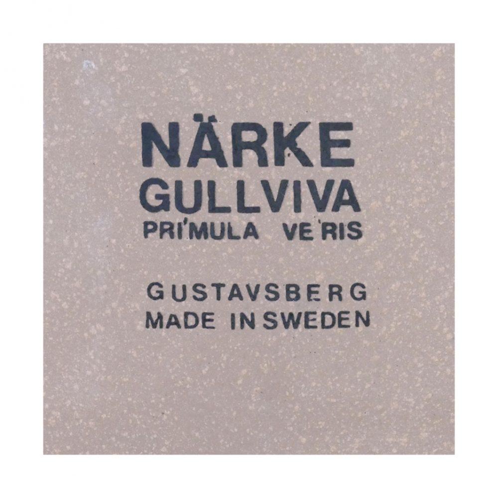 Gustavsberg Silver Primula (Narke) Marks