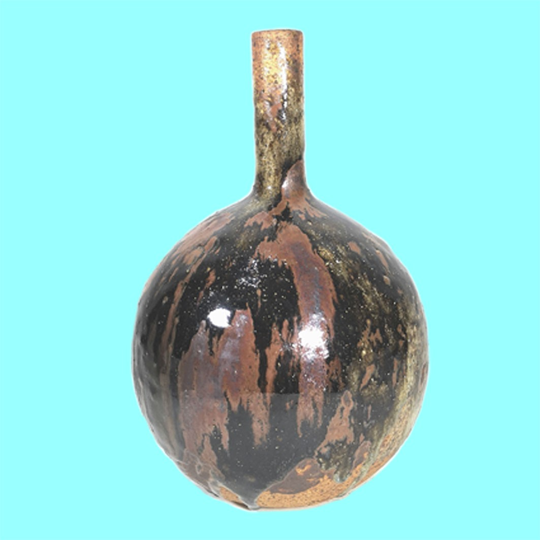 Conny Walther Globe and Shaft Vase